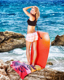 Active summer holidays Stock Image