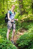 Active Tourism - Mountain Hiking Stock Image