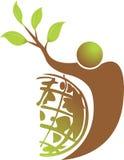 Active tree logo Royalty Free Stock Photo