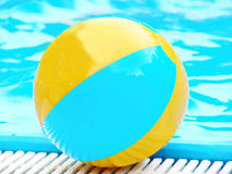 Active vacations - beach ball Stock Photo