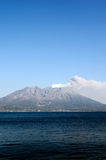 Active volcano Royalty Free Stock Image
