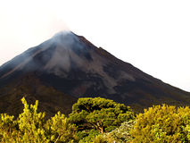Active volcano. At costa rica Royalty Free Stock Photography