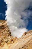 Active volcano Royalty Free Stock Photo