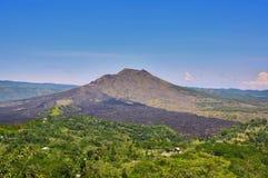 Active volcano Batur Stock Images