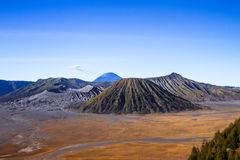 Active Volcano In East Java Indonesia. View of Active Volcano In East Java Indonesia Royalty Free Stock Photos