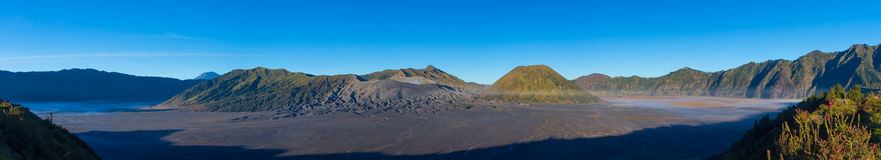 Active Volcano In East Java Indonesia. View of Active Volcano In East Java Indonesia Royalty Free Stock Photography