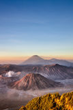 Active Volcano In East Java Indonesia. View of Active Volcano In East Java Indonesia Stock Photo
