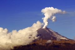 Active volcano I Royalty Free Stock Image