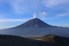 Active Volcano Popocatepetl in Mexico stock photography