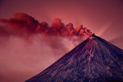 Active vulcano Royalty Free Stock Photo