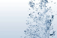 Active water background Royalty Free Stock Photo