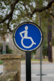 Active Wheel Chair Sign Stock Images
