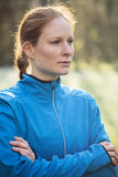 Active Woman in Sportswear Royalty Free Stock Photo
