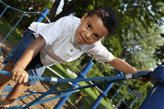 Active young boy Royalty Free Stock Photography