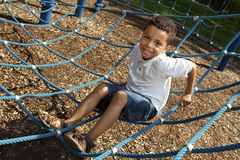 Active young boy Stock Photography
