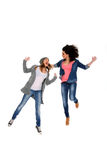 Active young girls Royalty Free Stock Photo