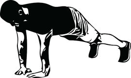 Free Active Young Man Doing Push-ups In Gym Royalty Free Stock Image - 116592386
