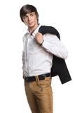 Active young man Royalty Free Stock Photos