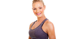Active young woman Royalty Free Stock Images