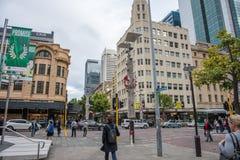 Activer Perth à l'époque de Noël Images libres de droits