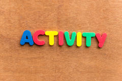 actividad Fotografía de archivo