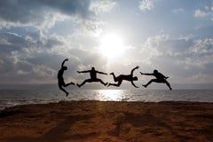 Actividad acrobática Imagen de archivo
