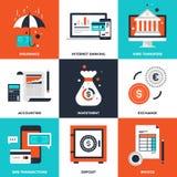 Actividad bancaria y finanzas Fotos de archivo libres de regalías