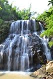Actividad de la cascada Imagen de archivo libre de regalías