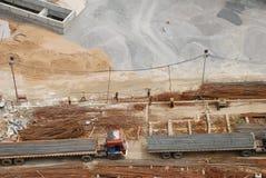 Actividad de la construcción Foto de archivo