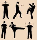 Actividad de los hombres ilustración del vector