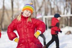 Actividad del invierno Imagen de archivo libre de regalías