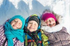 Actividad del invierno Fotografía de archivo libre de regalías