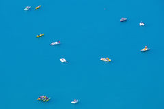 Actividad del lago Imagenes de archivo