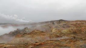 Actividad geotérmica en Islandia metrajes