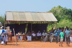 Actividad recreativa tradicional del deporte en Jaffna imágenes de archivo libres de regalías