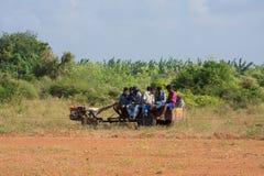 Actividad recreativa tradicional del deporte en Jaffna fotos de archivo