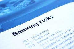 Actividades bancarias Foto de archivo