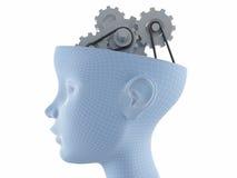 Actividades de cerebro ilustración del vector