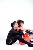 Actividades de la danza Imagen de archivo libre de regalías
