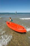Actividades de la playa Fotos de archivo libres de regalías