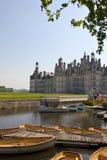 Actividades del castillo de Chambord fotografía de archivo