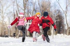 Actividades del invierno Imagen de archivo libre de regalías