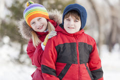 Actividades del invierno Fotografía de archivo libre de regalías