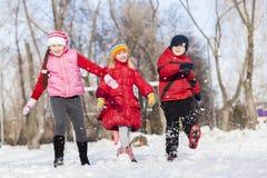 Actividades del invierno Foto de archivo