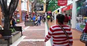 Actividades diarias en la alameda Bogotá Colombia de Las Américas metrajes