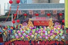 Actividades que suben del día de Año Nuevo en Shangai Fotografía de archivo libre de regalías