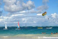 Actividades tropicales del océano Imágenes de archivo libres de regalías