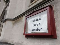Activist Movement, Black Lives Matter, NYC, NY, USA royalty free stock photos