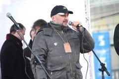 Activista civil Vadim Korovin Imagenes de archivo