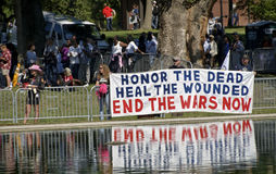 Activistas pacíficos Imagem de Stock Royalty Free